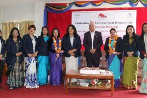 नेपाली खेलकुदमा पुर्याएको योगदानस्वरुप जोशी र अधिकारी सम्मानित